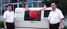 新泽谷第2500台机器成功交付