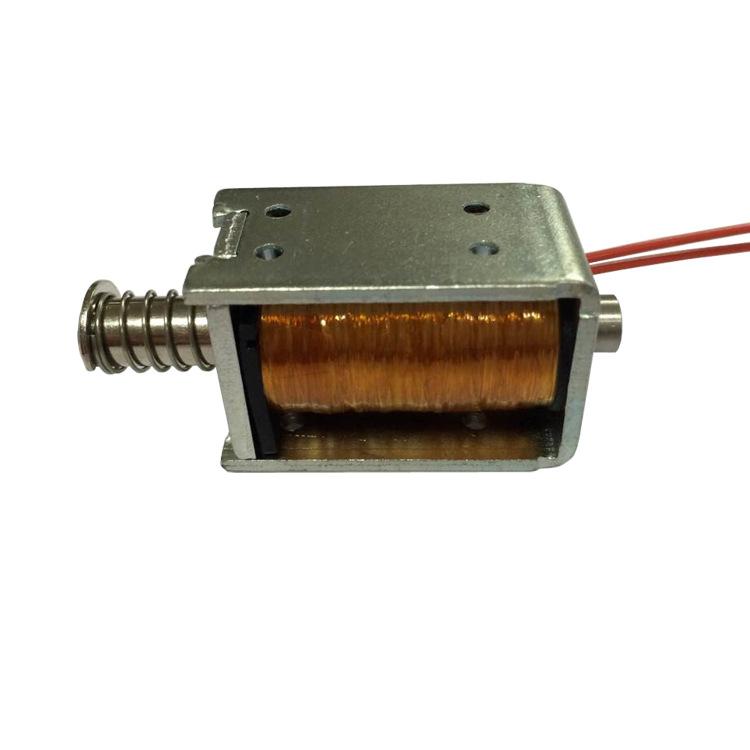 U0837推拉電磁鐵高溫3