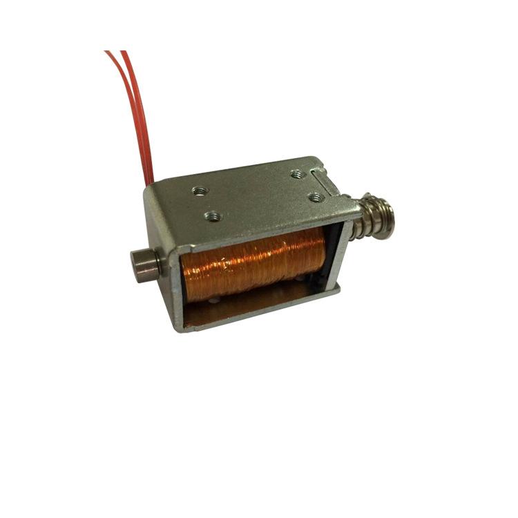U0837推拉電磁鐵高溫1