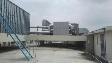 RCO催化燃烧+活性炭(喷漆房废气处理设备)