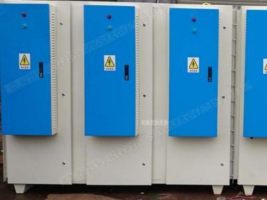 低温等离子废气净化设备(医药、橡胶、印染行业)