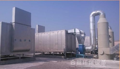 高效微生物废气处理净化塔