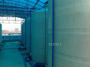 东莞某镇电镀集中污水处理厂处理污水量