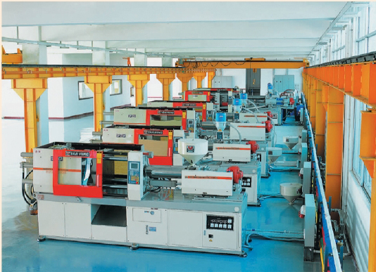 Injection-molded parts machining centers