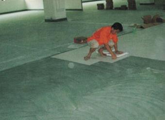 PVC片材石塑地板