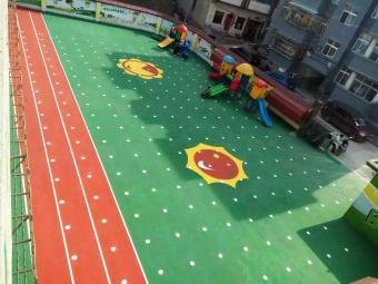 球場跑道地坪
