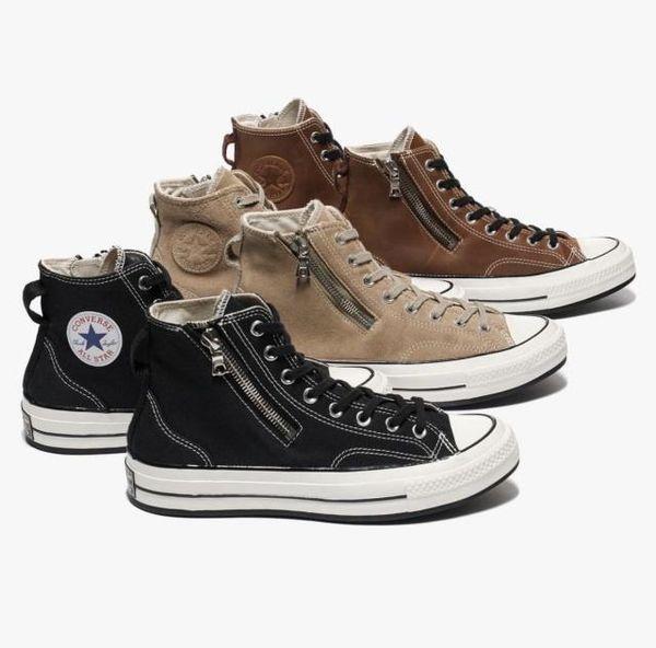 匡威最近發布的聯名款鞋的拉鏈是riri的?
