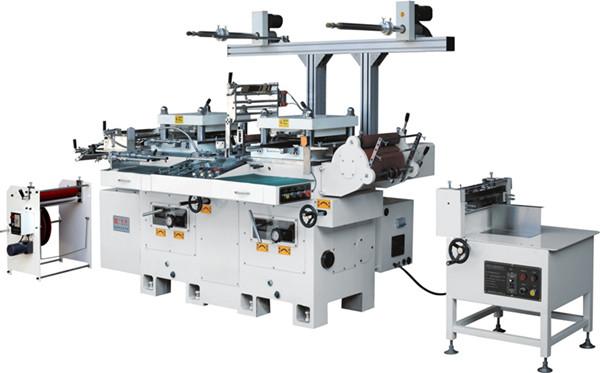 HB-300数控多功能双座模切机