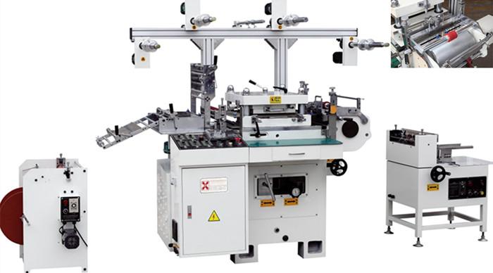 HD-350数控多功能套孔单座模切机