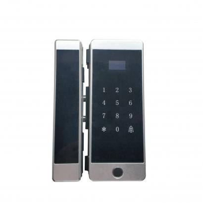 指纹密码玻璃门锁 F19-C1