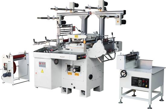 各类模切机的配合使用方法