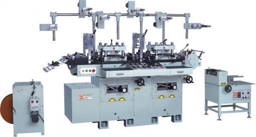 HB-220数控多功能双座模切机