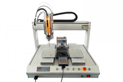 雙工位吸附式自動鎖螺絲機5331行程