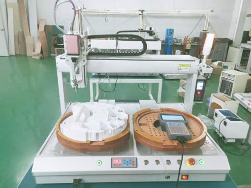 雙工位吹氣式自動鎖螺絲機7441行程