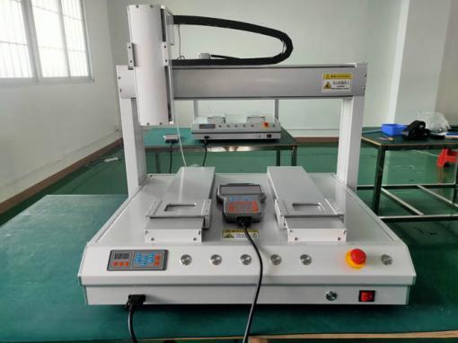 雙工位吹氣式自動鎖螺絲機5331行程